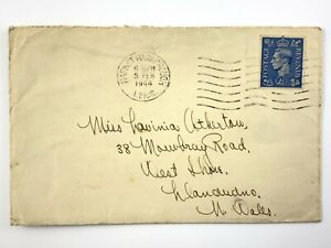 WWII Canada RCAF Royal Canadian Air Force Service No. R182052 Envelope Only 620B