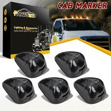 (5) Smoke 15442 Cab Marker Light w/ Amber LED Assembly for Ford 150-550 99-16