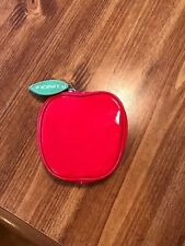 Clinique Red Apple Shaped Cosmetic bag
