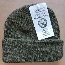 US Army 100% Wool Watch Cap