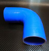 90° LLK Silikon Bogen Schlauch Turbolader Kühlerschlauch Silikonschlauch 57 68mm