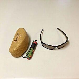 Maui Jim HOKU Sunglasses MJ106-10, Tortoise Frames, Bronze polarized lens, EUC