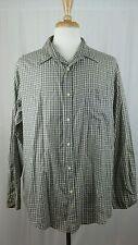 Cherokee Men's Button Down Lightweight Long Sleeve Shirt S XL