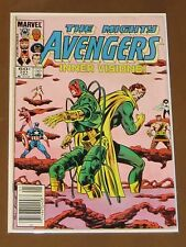 """AVENGERS #251 FN """"INNER VISIONS"""" WASP PALADIN STARFOX SCARLET WITCH HERCULES"""