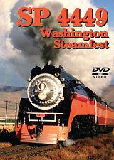 SP 4449 Washington Steamfest DVD Greg Scholl Southern Pacific Portland Kennewick