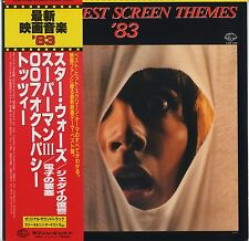 The Newest Screen Themes '83 OST JAPAN LP with OBI Battletruck, Tenebre (Goblin)