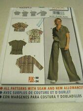 UNCUT BURDA Start3 LADIES BLOUSE Sewing Pattern # 8368 12-24