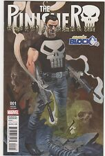 The Punisher #1 Comic Block Variant