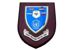 Force Military Police Unit Cyprus Wall Plaque UK Made for MOD