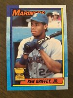 MINT 1990 Topps Rookie #336 Ken Griffey Jr. Rare Error Card Bloody Scar RC Card