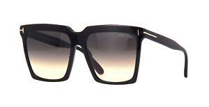 Tom Ford SABRINA-02 FT 0764 Black/Grey Shaded (01B) Sunglasses
