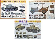 Dragon 1/6 Tank Military Vehicle New Plastic Model Kit 1 6 Action Man Size