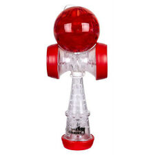 Duncan Chameleo Torch Kendama LED Glow Red and Clear White Light Up