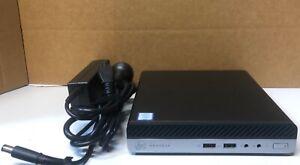 HP ProDesk 400 G3 DM Core I7-7700T @ 2.90GHZ 8GB 256GB SSD WIFI Win10Pro USFF PC