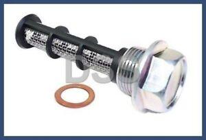 Genuine Smart Fortwo Oil Drain Plug Screw Replacement + Crush Washer OEM kit 451
