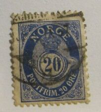 Norway Scott #53a Perf. 13½x12½  used stamp