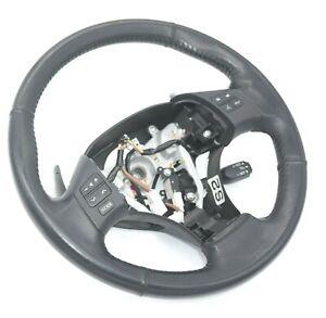 2005-2013 Lexus IS250 GSE2 Steering Wheel Leather Black Paddle Shift OEM Genuine