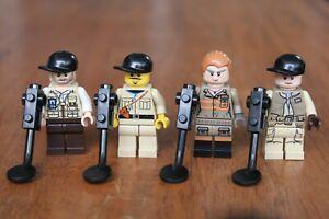 LEGO MINIFIGURE MINIFIG Explorer Safari Metal Detector