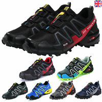 Athletic Men's Sports Speedcross Running Hiking Casual Shoes Sneakers Trainer UK