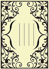 """Crafts Too Embossing Folder """"Invitation"""" Ctfd3052 For Cards & Scrapbooking"""