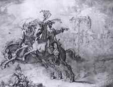 Cornelius Peter la visione della RABENSTEIN stampa in A4