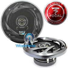 "FOCAL AUDITOR RIP-100C CAR AUDIO 2-WAY 4"" COAXIAL SPEAKERS BUILT IN TWEETER NEW"
