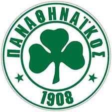 "Panathinaikos FC Greece Football Soccer Car Bumper Sticker Decal 4.6""X4.6"""