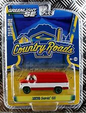 Greenlight Green Machine 76 1976 Chevrolet Van Country Roads Series 14 Chevy Red