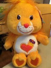 "Care Bear Cousins Series 2 Collector's Edition 8"" Brave Heart Lion W/Tags"