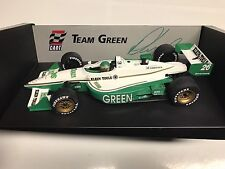 UT Models Paul Tracy Signed 1998 Team Green Reynard 1/18 NIB +
