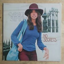 Carly Simon No Secrets 1972 Vinyl LP Elektra Records EKS-75049