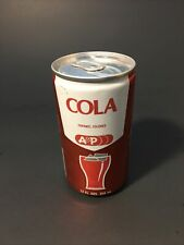 Vintage A&P Cola Soda Pop Can. Opened From The Bottom