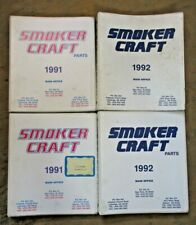 1991 & 1992 Smokercraft Binders with Parts & Other Office Information