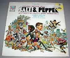 SALT & PEPPER SEALED LP - Film Soundtrack (1968)