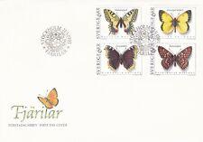 Suède 1993 1759-62 FDC Papillons