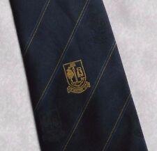TIE Rack Retrò Vintage SCUDO CREST Motif Cravatta ANNI'80'90 club associazione