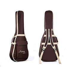 "Folk Acoustic Guitar Gig Bag Soft Case Strap PU Padded Waterproof for 39 40 41 """