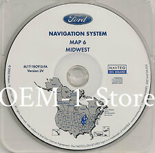 03 2004 2005 FORD EXPEDITION​​​​​​​ EDDIE BAUER NAVIGATION MAP DISC CD 6 MIDWEST