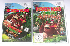 "Nintendo wii jeu ""Donkey Kong Country returns"" complet"