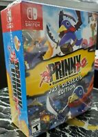 Prinny 1+2 Exploded and Reloaded Just Desserts Edition ( Nintendo Switch )NEW