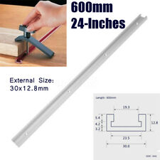 24 Inch 600mm T-tracks T-slot Miter Track Jig Fixture Slot for Router Table