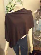 Versatile Bordeaux Wrap by Noelle: Shawl/Vest/Poncho/Scarf - Assorted Colors
