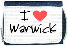 I Love Heart Warwick Denim Wallet