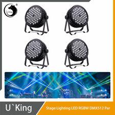U`King 4PCS 54LED 200W Stage Lighting RGBW DMX512 Disco Party DJ Show Par Light