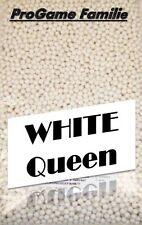 """1kg Softairkugeln """"White Queen"""" (weiß) von Pro Game ca. 8333 Stück (0,12 Gramm)"""