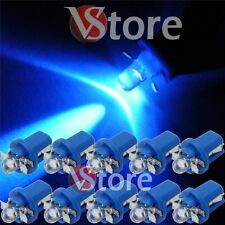 10 LED T5 B8.5D BLU Lampade Lampadine Luci Per Cruscotto Quadro Strumenti