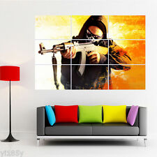 Counter Strike Global Offensive Poster Giant Wall Decal Art A