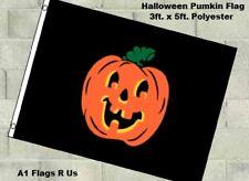 Halloween Pumpkin Flag 3x5ft Poly