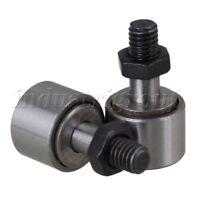 2P 13mm Dia Cam Follower Needle Roller Bearing Stud Type Bearing Steel KR13