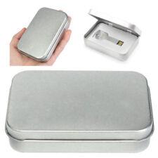 Caja de almacenamiento metal Organizador llave caramelo moneda dinero